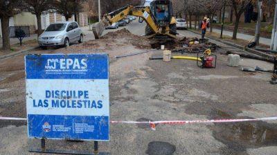 Cuatro barrios con problemas de agua por roturas