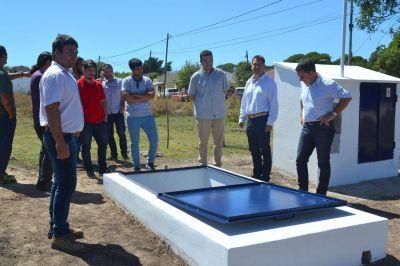Ponen en funcionamiento un nuevo pozo de captación de agua en Miramar