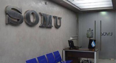 Devuelven hoy el SOMU con la mitad de los afiliados