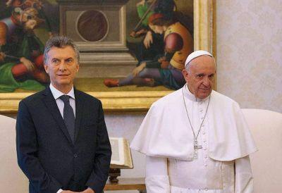 Crece la tensión entre Macri y el Papa