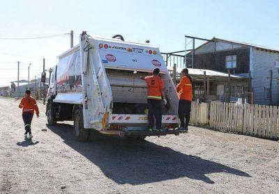 Hay paro en la recolección de residuos en toda la provincia