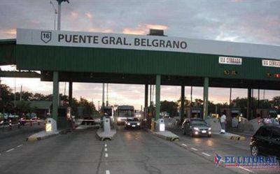 El peaje del puente Manuel Belgrano aumentó de $15 a $23