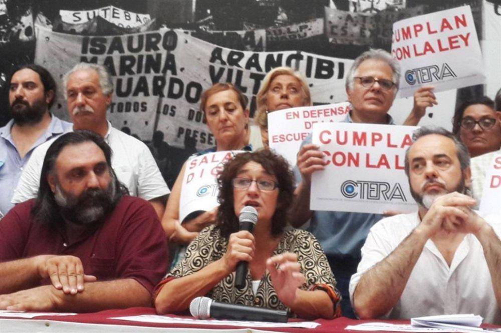 El gobierno porteño convocó a los docentes para mañana