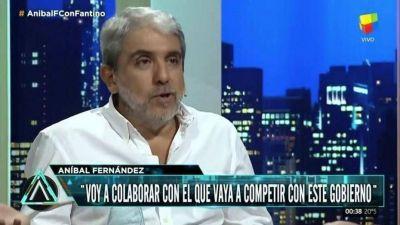 Aníbal Fernández, duro con La Cámpora: