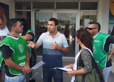 Jornada provincial de lucha: ATE concentró en la puerta del Consejo Escolar