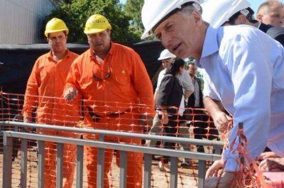 El Presidente recorrió obras pluviales y ratificó proyectos para varios municipios