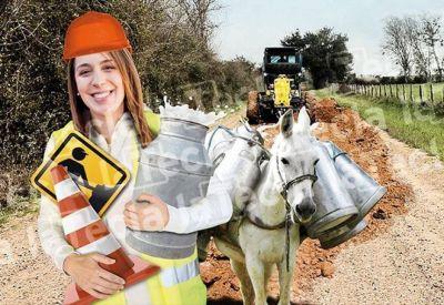 Buena leche: Vidal le arregla los caminos al campo