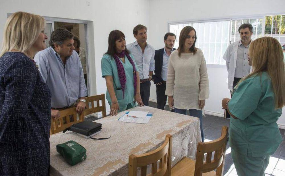 Vidal vs. Narcos: la Gobernadora visitó un centro de atención a las adicciones y dejó afuera al intendente