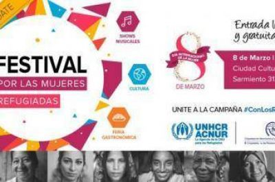 """Festival """"Por las mujeres refugiadas"""" en la ciudad de Buenos Aires"""