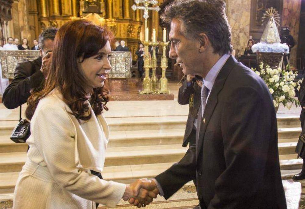 Macri - Cristina: contradicciones y falsedades en el debate por el aborto