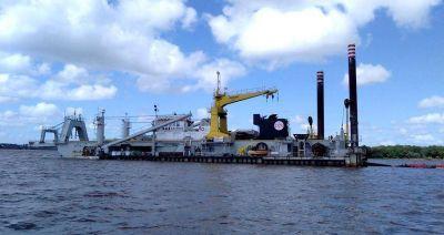 Mañana iniciarían obras de dragado en el río Uruguay