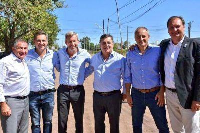 Frigerio visitó Marcos Juárez con políticos cordobeses
