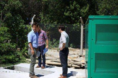 Funcionarios de Nación recorrieron las obras de La Paz, Cerrito, Bovril y Sauce de Luna