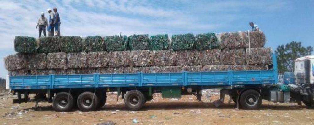 El Campo El Abasto realizó la primera carga de residuos reciclados del año