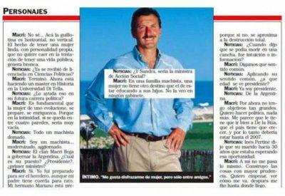 """El día que Mauricio Macri le admitió a Noticias que era """"un machista modernizado"""""""
