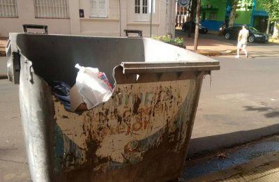 Repetto culpó a los vecinos por abundancia de basura