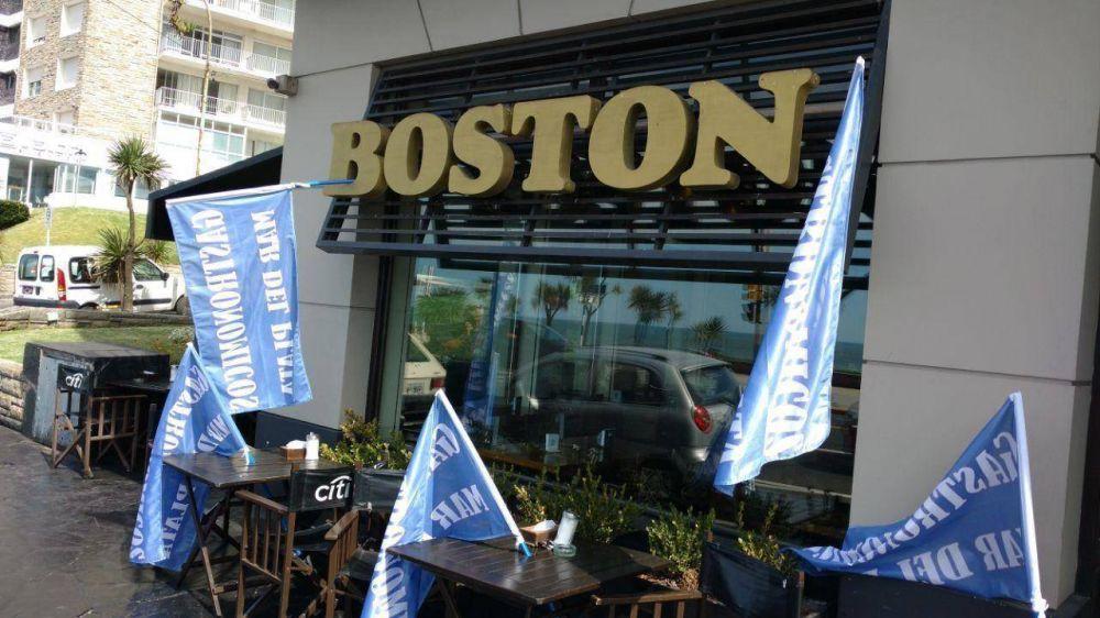 Si la empresa no paga lo que resta del salario, el miércoles habrá paro en los locales de la Boston