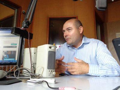 Reyes aseguró que ya se notan los beneficios los desagües en Fuertes