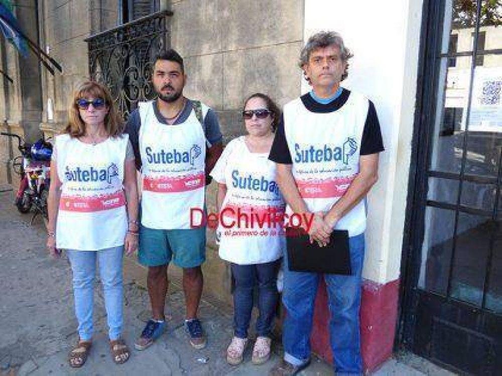 Dirigentes de Suteba Chivilcoy reclaman por problemas en el funcionamiento del nuevo sistema de licencias