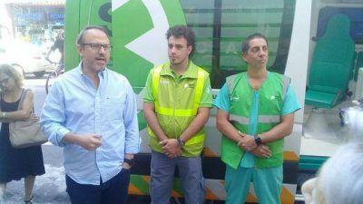 Valenzuela inauguró una nueva posta del SAME en Sáenz Peña