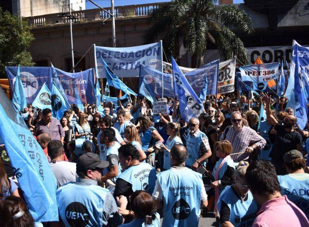 15% con cláusula gatillo para los docentes de Córdoba