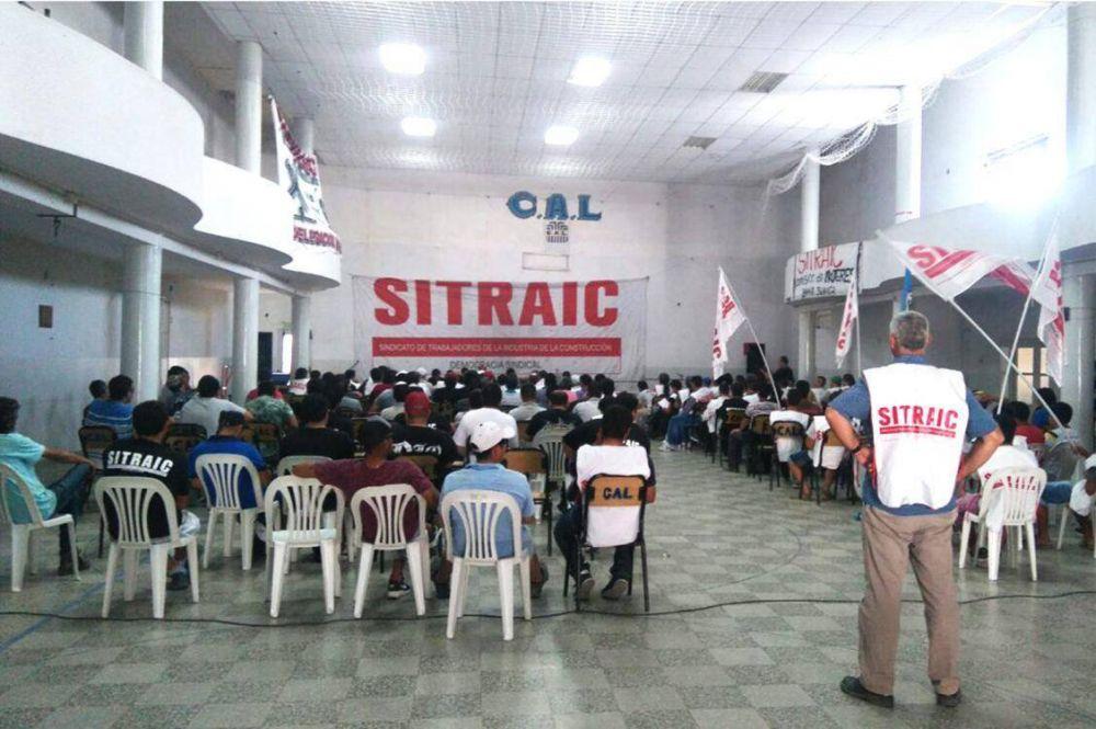 """El Sitraic en Bahía Blanca: """"Vamos a dar una batalla definitiva"""""""