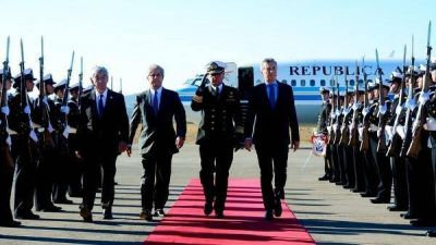 Mauricio Macri llegó a Chile para la asunción presidencial de Sebastián Piñera