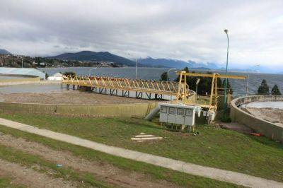 La red cloacal de Bariloche y una planta de tratamiento que ya fue ampliamente superad