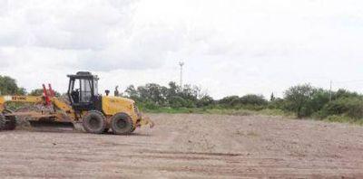 Comenzaron las tareas para las obras de la planta de residuos para Resistencia
