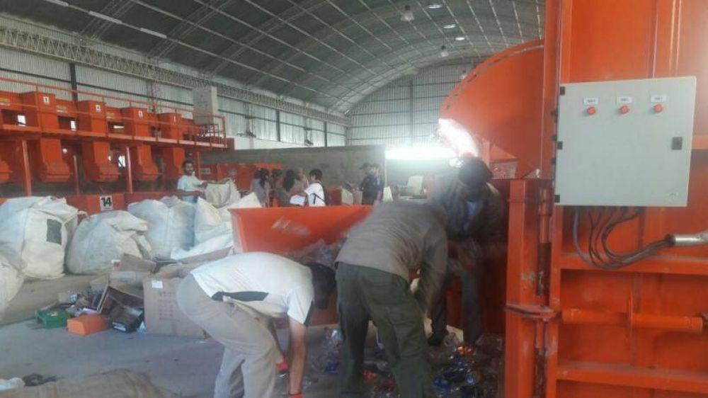 A días de inaugurar la Planta de Tratamientos de residuos secos