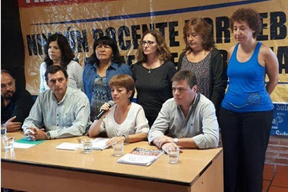 """El Frente de Unidad volvió a reclamar salarios y repudió el """"cierre de escuelas"""", pero no lanzó paro"""