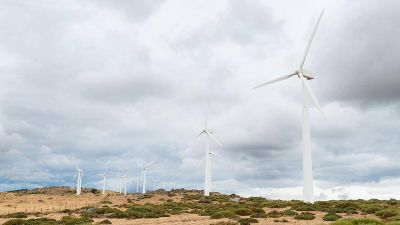 Desde septiembre de 2019 producirán energía eólica