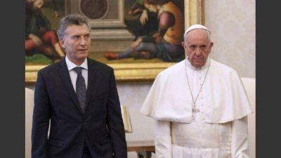 Macri saludó a Francisco y lo valoró como