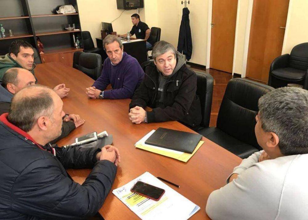 En sintonía con Pablo Moyano, Alberto Peralta se aleja de la CGT local