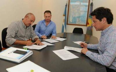 Sánchez Zinny acordó con intendente massista las obras del Fondo Educativo Nacional