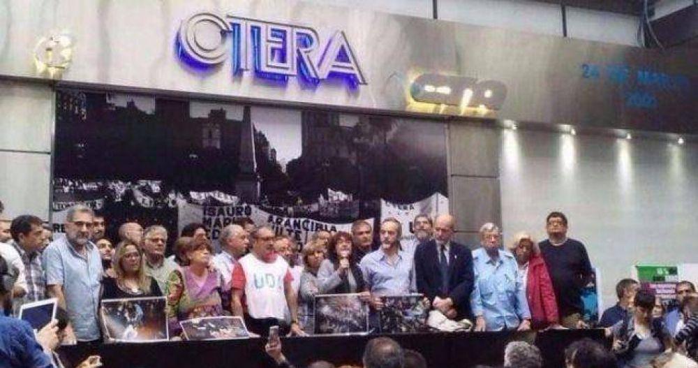 """Para Ctera, sin paritaria nacional docente """"se profundizan los conflictos provinciales"""""""