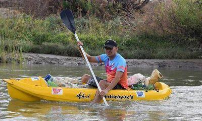 Rawson: Sacando basura del ríoSe realizó la campaña de limpieza del río Chubut