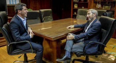 Uñac se reunió con Frigerio y se bajó del encuentro peronista de San Luis