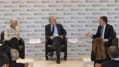 En su visita a la Argentina, Lagarde respaldó el programa gradualista del Gobierno