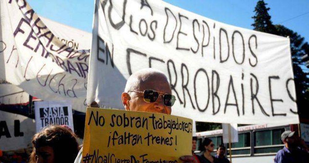 Marcharon para pedirle a Vidal que no cierre Ferrobaires