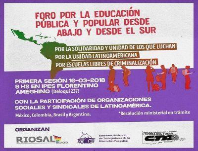 Foro Por La Educación Pública y Popular