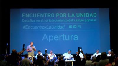 """Gustavo Menéndez: """"El camino de la unidad es el camino de la inteligencia"""""""