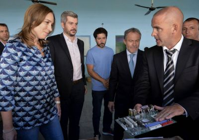 Marcos recibe el apoyo de Vidal para impulsar a su candidato en Varela