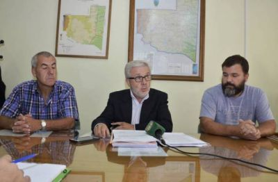 Se firmó un convenio para hacer obra de agua potable en Quemú