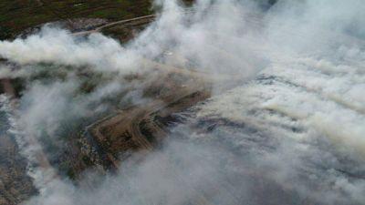 Grave acusación sobre presunto incendio intencional del predio de residuos