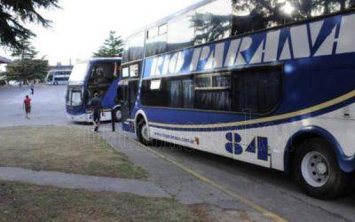 La UTA decretó un nuevo paro en la empresa Río Paraná por incumplimiento en los pagos
