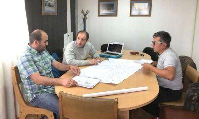 Detallaron a vecinos el plan de obra de agua y cloaca para dos sectores de Andorra