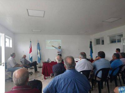 Boscarol en reunión sobre obras hídricas