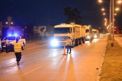 Operativos en ruta 34 contra los camiones en infracción