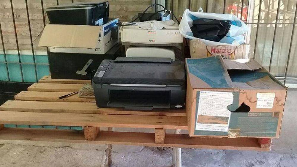Pilar avanza con la recolección de residuos electrónicos